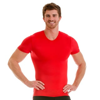 Insta Slim Men's Pro Active Wear Compression Crew-neck T-shirt