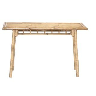 Natural Beige Bamboo Sofa Table (Vietnam)