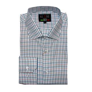 Azaro Uomo Men's Vinny Plaid Button Down