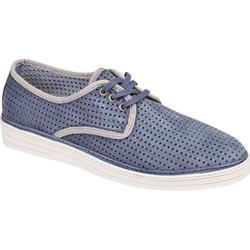 Men's Bacco Bucci Tola Sneaker Blue Suede