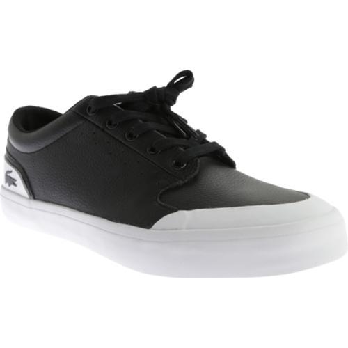 fa171cc79426 Shop Men s Lacoste 4HND.15 116 1 Sneaker Black White Leather - Free  Shipping Today - Overstock.com - 11830875