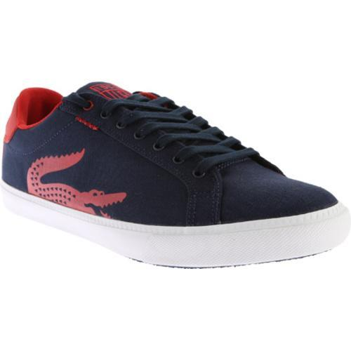3b572af32 Shop Men s Lacoste Graduate Vulc TSP Sneaker Dark Blue Red Canvas - Free  Shipping Today - Overstock - 11830894