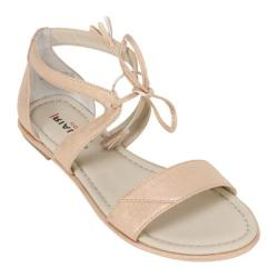 Women's Rialto Robyn Sandal Rose Gold/Metallic Suede