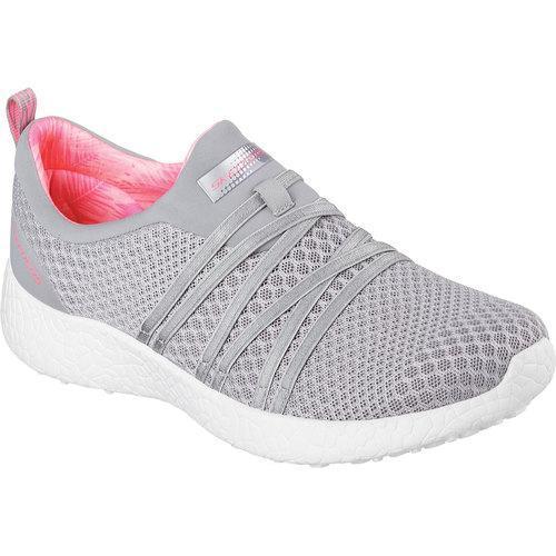 df683f2b22 Shop Women s Skechers Burst Very Daring Slip On Sneaker Gray Coral - Free  Shipping Today - Overstock - 11831053