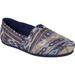 Women's Skechers BOBS Plush Wonder Alpargata Navy