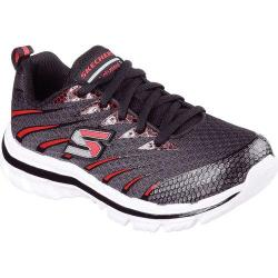 Boys' Skechers Nitrate Training Shoe Black/Red