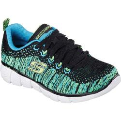 Boys' Skechers Equalizer 2.0 Perfect Game Black/Blue/Lime