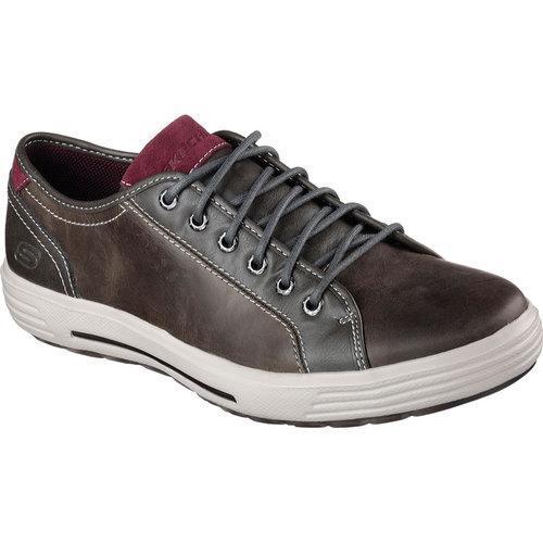 Men's Skechers Relaxed Fit Porter Ressen Sneaker Gray