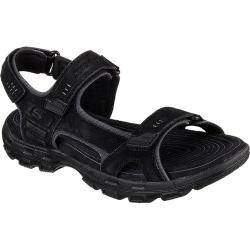 Men's Skechers Relaxed Fit Gander Alec Sport Sandal Black