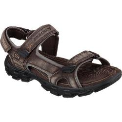 Men's Skechers Relaxed Fit Gander Alec Sport Sandal Brown