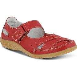 Women's Spring Step Streetwise Red Leather