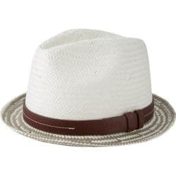 Men's Ben Sherman Plaited Brim Trilby Moon