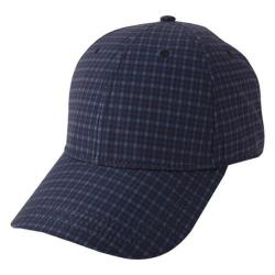Men's Ben Sherman Sublimation Print Gingham Baseball Cap Dark Teal