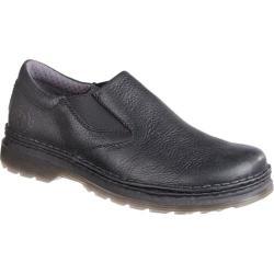 Men's Dr. Martens Robson Orson Plain Toe Slip On Shoe Black Overdrive