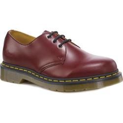 Dr. Martens Back to Basics 1461 3 Eye Gibson Oxford Cherry Red Smooth