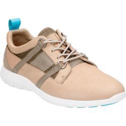 Men's Clarks Jambi Lo Sneaker Sand Full Grain Leather/Mesh