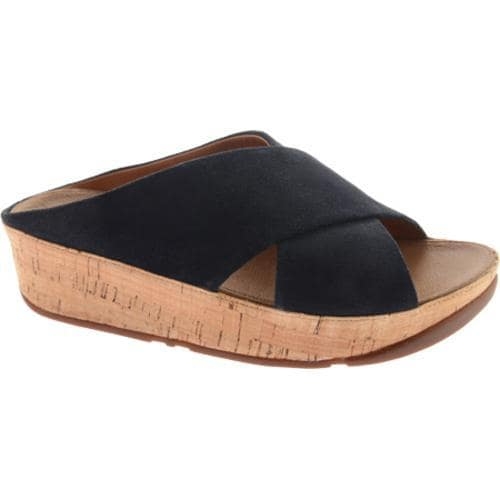 504299b08 Shop Women s FitFlop KYS Suede Supernavy - Free Shipping Today - Overstock  - 11847214