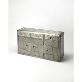 Industrial Chic Console Cabinet