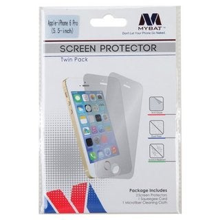MYBAT Screen Protector Twin Pack for APPLE iPhone 6 Plus (5.5) Clear