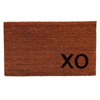 Natural XO Doormat (1'5 x 2'5)