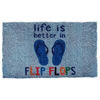 Life Is Better Doormat (1'5 x 2'5)