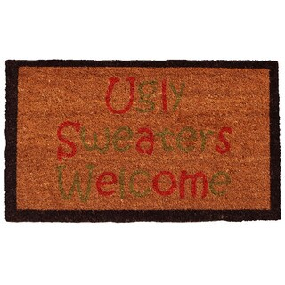 Ugly Sweaters Doormat (1'5 x 2'5)