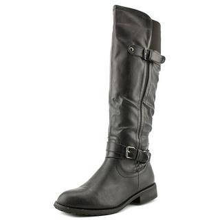 Bucco Capensis Women's 'Lyla' Black Faux Leather Boots