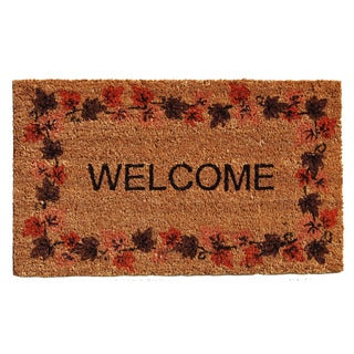 Autumn Welcome Doormat (1'5 x 2'5)