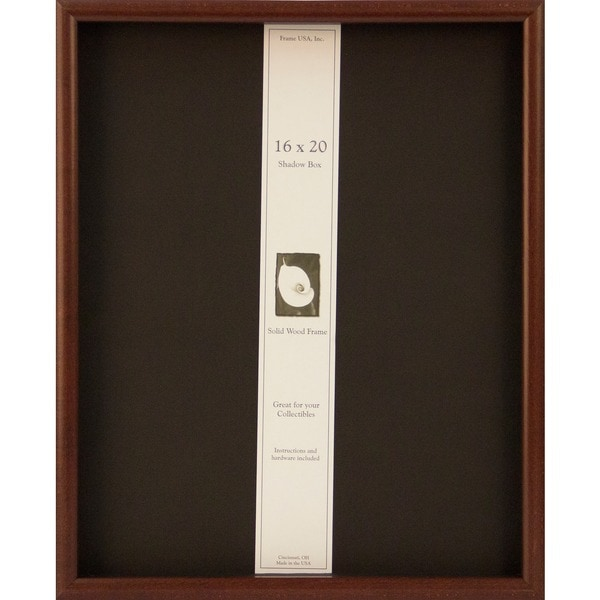 Shadow Box Elite 16x20 Frame. Opens flyout.