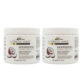 Dominican Magic Deep Fortifying 16-ounce Conditioner (Pack of 2)