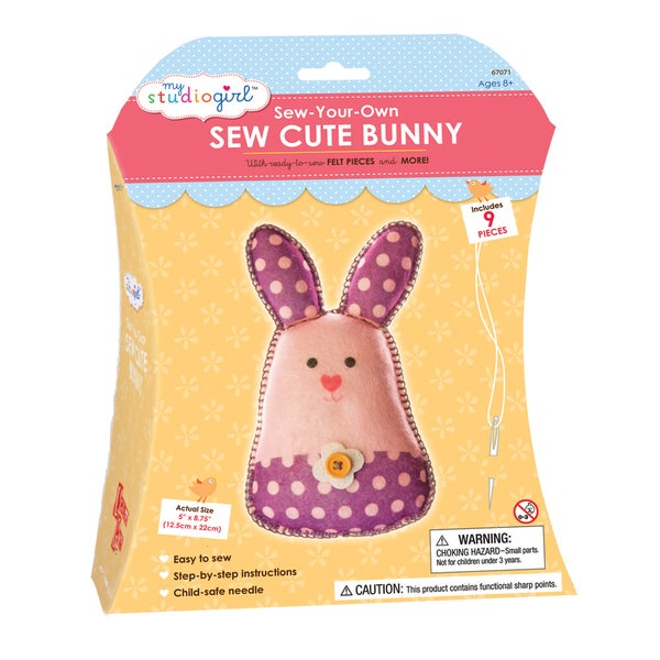 My Studio Girl Sew-Your-Own Sew Cute Bunny
