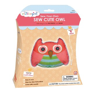 My Studio Girl Sew-Your-Own Sew Cute Owl
