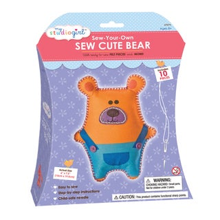 My Studio Girl Sew-Your-Own Sew Cute Bear