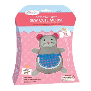 My Studio Girl Sew-Your-Own Sew Cute Mouse