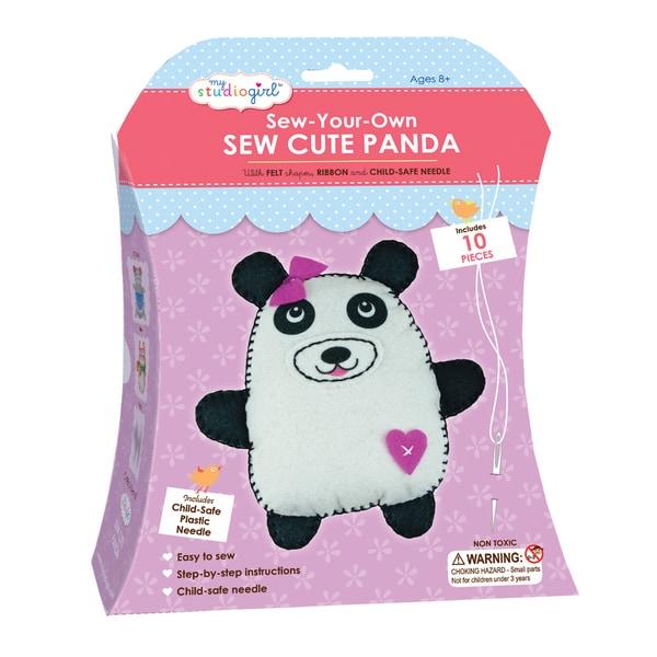 My Studio Girl Sew-Your-Own Sew Cute Panda