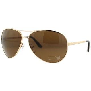 Tom Ford Men's TF0035 Charles Polarized/ Aviator Sunglasses