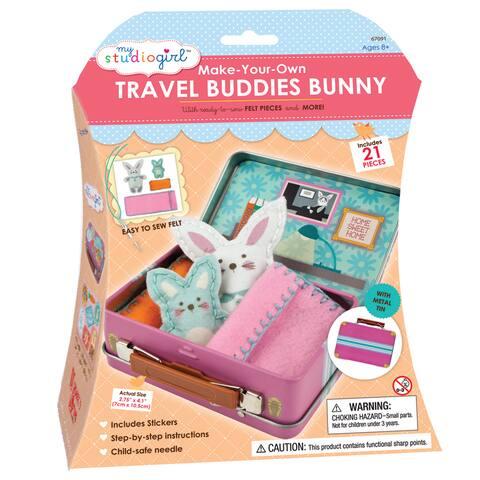 My Studio Girl Make-Your-Own Travel Buddies Bunny
