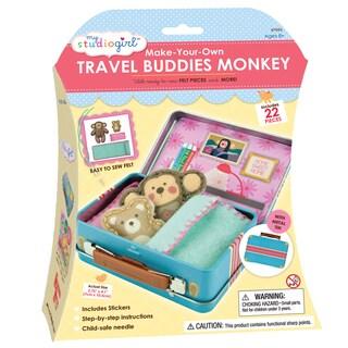 My Studio Girl Make-Your-Own Travel Buddies Monkey