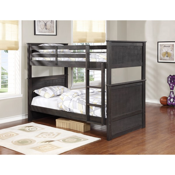 Shop Madison Twin Over Twin Bunk Bed Free Shipping Today