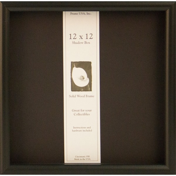 Shadow Box Elite Frame 12 X 12 Free Shipping On Orders