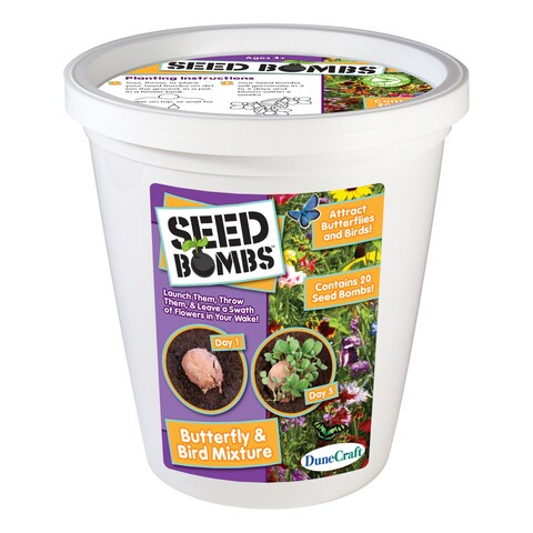 Seed Bomb Bucket Butterfly and Bird Mixture