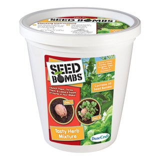 Seed Bomb Bucket Tasty Herb Mixture