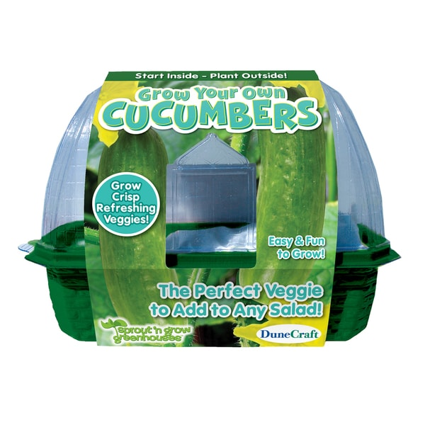 Sprout 'n Grow Greenhouse Grow Your Own Cucumbers
