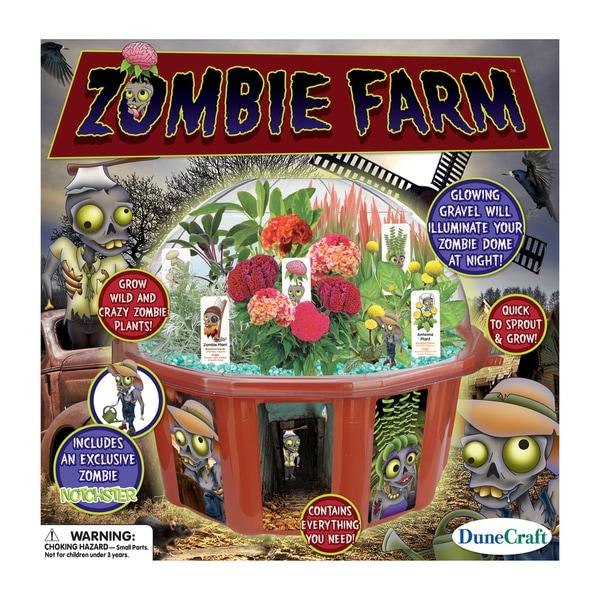Dome Terrarium Zombie Farm