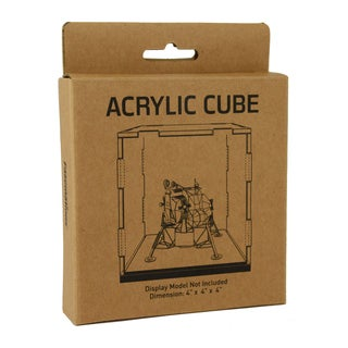 Metal Earth Acrylic Display Cube 4-inch x 4-inch x 4