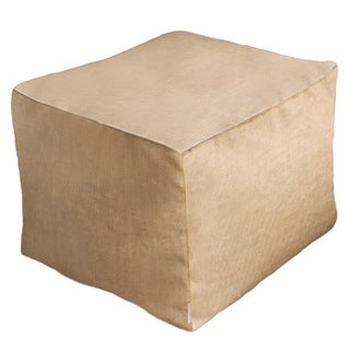 Outdoor/ Indoor Sunbrella Pouf  20 x 20  Sailcloth Space