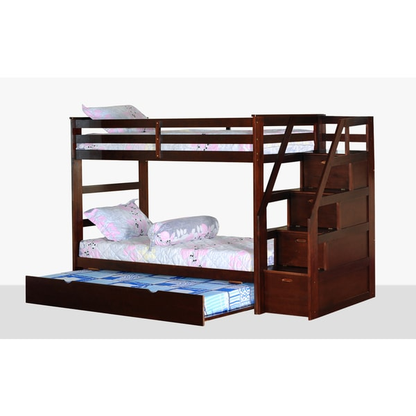 Overstock Pinewood Twin Bed