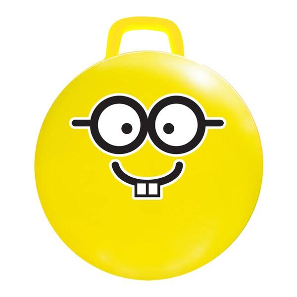 18-inch Yellow Emoji Jumping Ball #Nerd