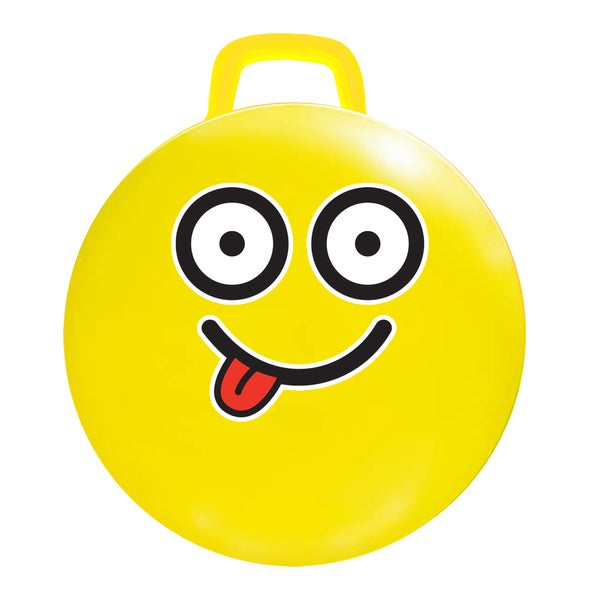 18-inch Yellow Emoji Jumping Ball #Silly