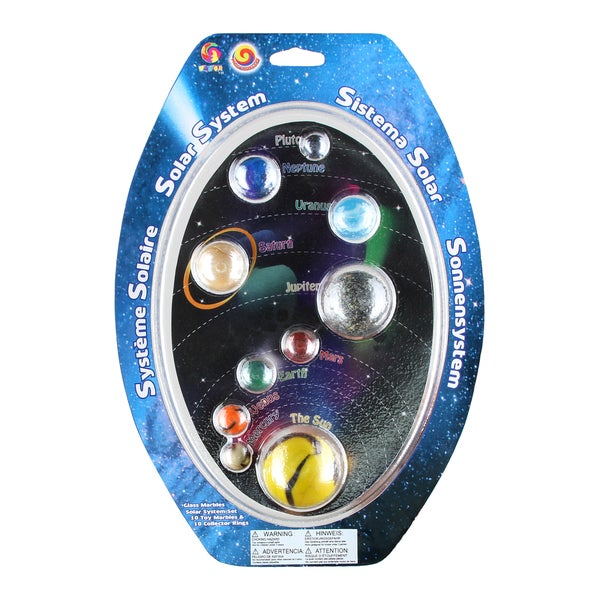 Solar System Marble Gift Set